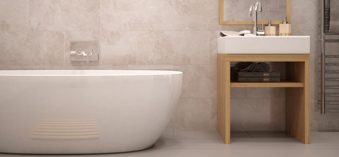 We stock a range of contemporary bathroom tiles